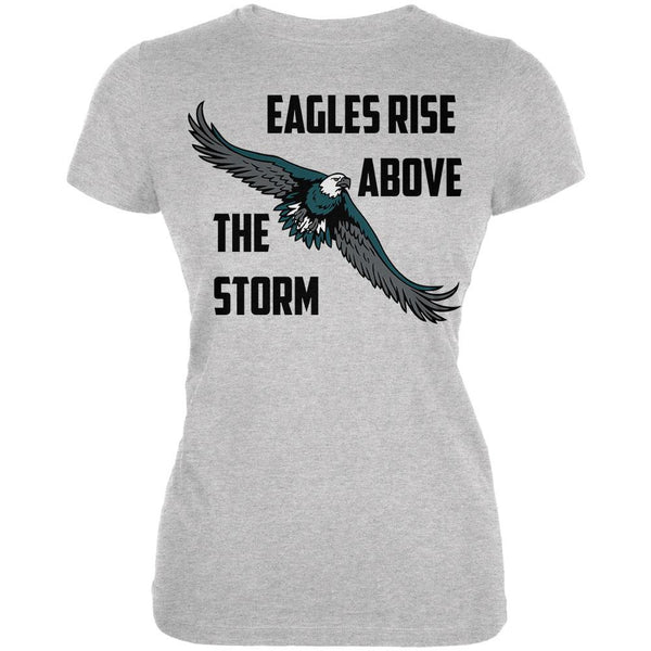 Eagles Rise Above The Storm Juniors Soft T Shirt
