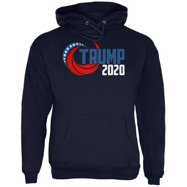 Election Re-Elect Donald Trump 2020 Swoosh Mens Hoodie