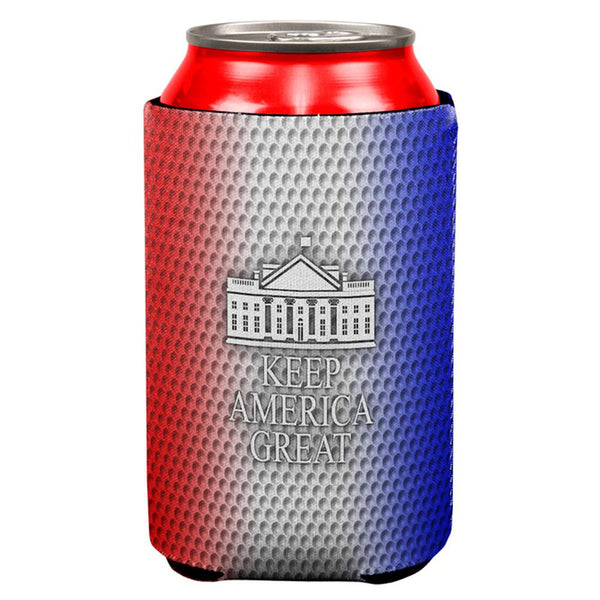 Re-Elect Trump 2020 Keep America Great Golf All Over Can Cooler