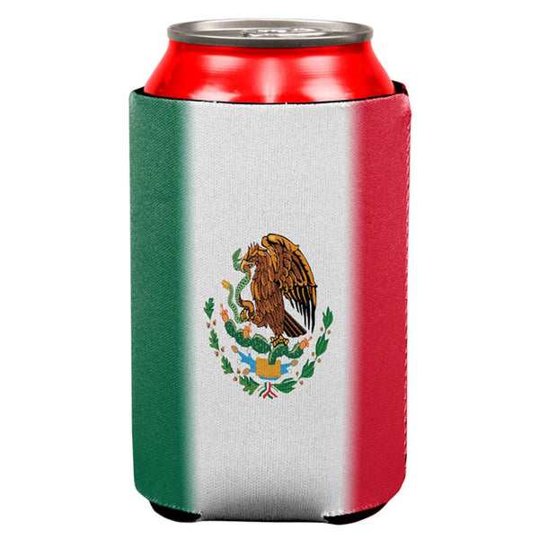 Cinco De Mayo Mexican Flag All Over Can Cooler
