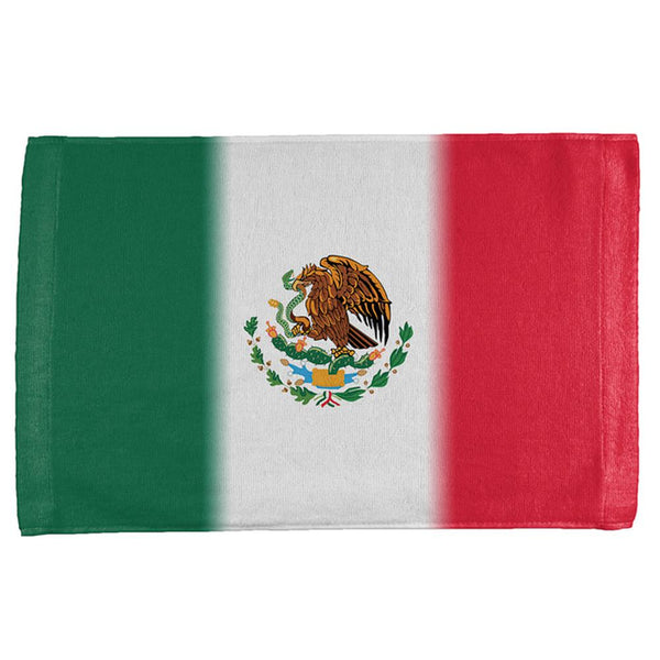 Cinco De Mayo Mexican Flag All Over Hand Towel
