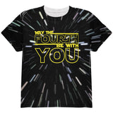 May The Fourth Be With You All Over Youth T Shirt