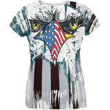 Patriotic Eagle of Philly All Over Womens T Shirt