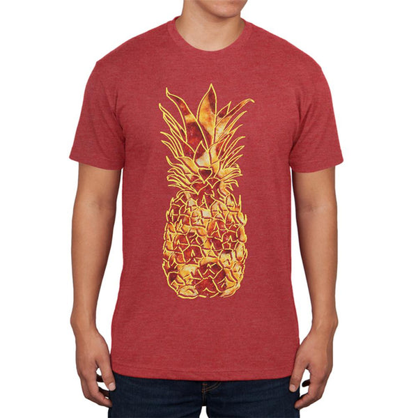 Pineapple Pizza Mens Soft T Shirt
