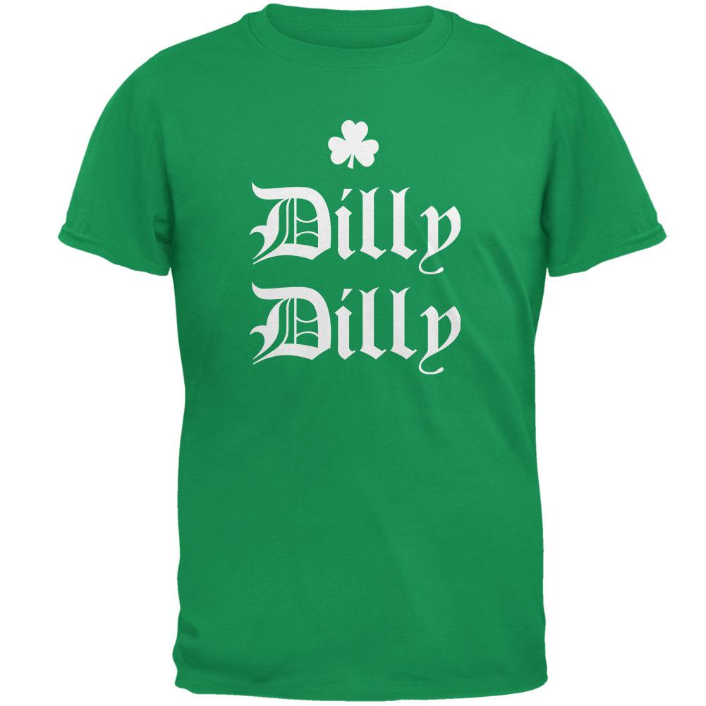 St. Patricks Day Dilly Dilly Shamrock Mens T Shirt – OldGlory.com faa0791a6
