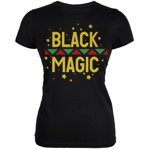 Black History Month Magic Star Pan African Juniors Soft T Shirt