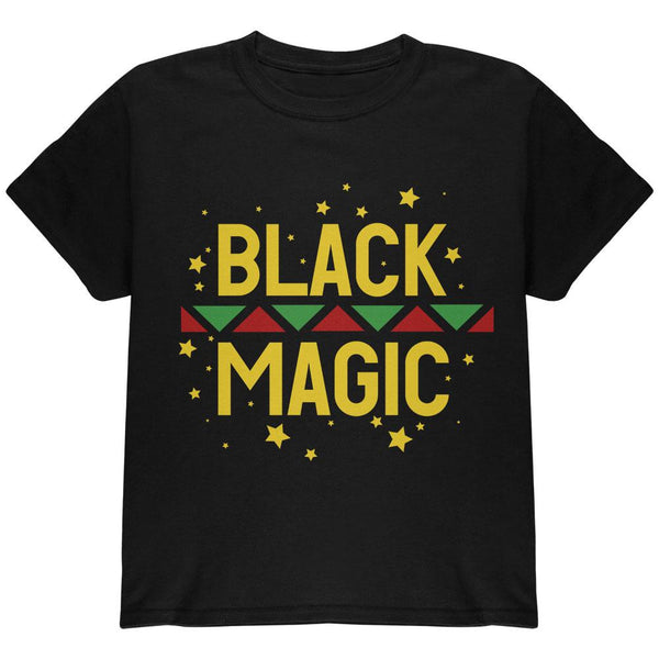 Black History Month Magic Star Pan African Youth T Shirt