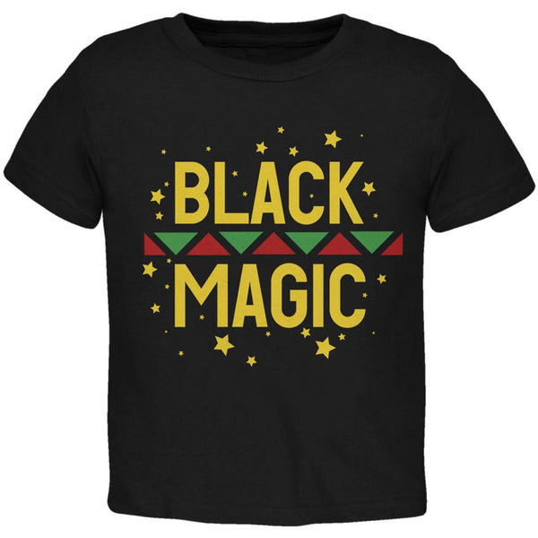 Black History Month Magic Star Pan African Toddler T Shirt