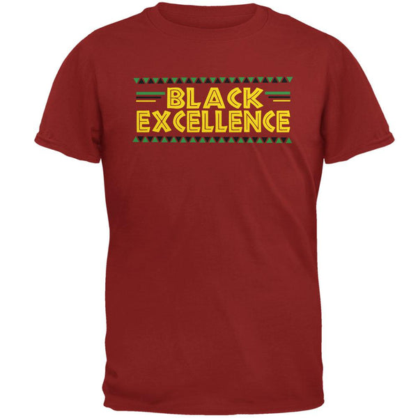 Black History Month Excellence Pan African Colors Mens T Shirt