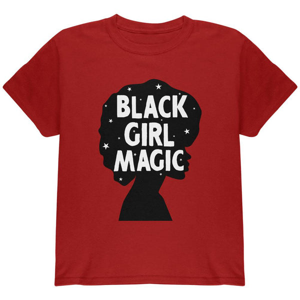 Black History Month Black Girl Magic Afro Youth T Shirt