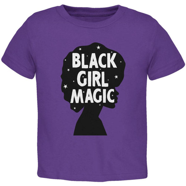 Black History Month Black Girl Magic Afro Toddler T Shirt