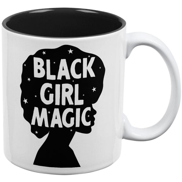 Black History Month Black Girl Magic Afro All Over Coffee Mug