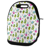Offset Science Repeat Teacher Gift Lunch Tote Bag