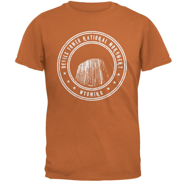 Devils Tower National Monument Mens T Shirt