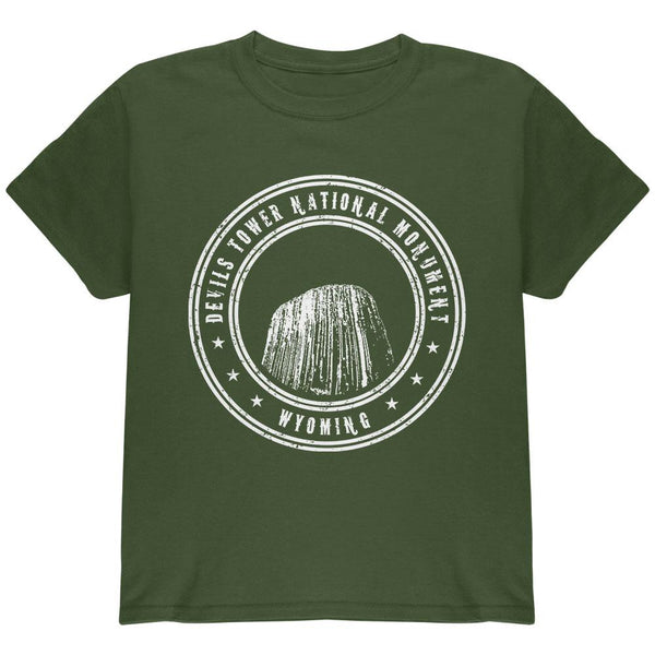 Devils Tower National Monument Youth T Shirt