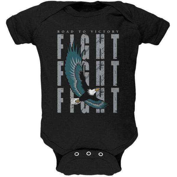 America Road To Victory Eagle Fight Soft Baby One Piece