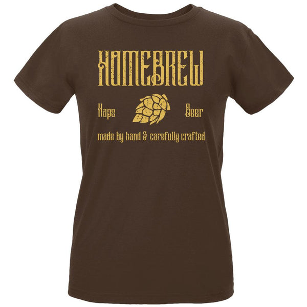 Homebrew Hops Beer Hand Crafted Womens Organic T Shirt