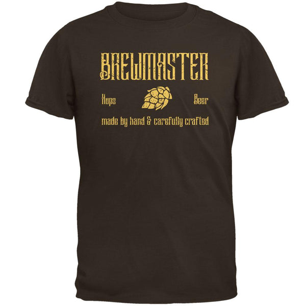 Brewmaster Beer Hops Hand Crafted Mens T Shirt