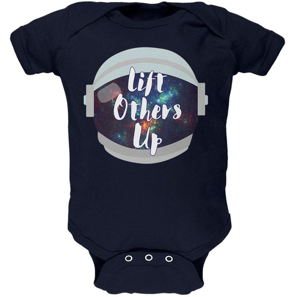 Anti-Bullying Astronaut Space Lift Others Up Soft Baby One Piece