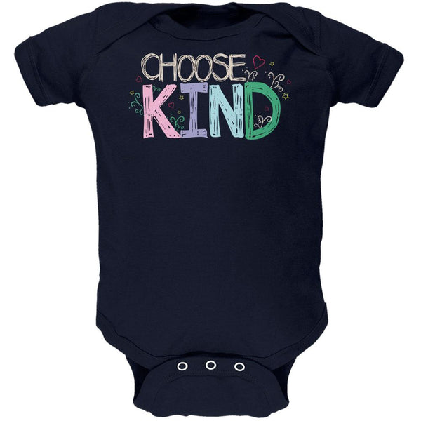 Anti-Bully Choose Kind Sketch Soft Baby One Piece