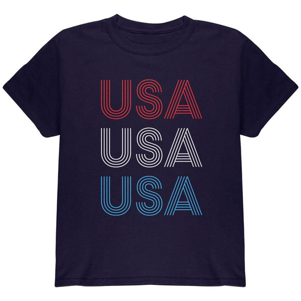 4th of July Vintage 70's Paralines USA Youth T Shirt
