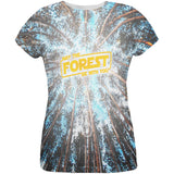 Earth Day May the Forest be with You All Over Womens T Shirt