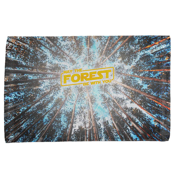 Earth Day May the Forest be with You All Over Sport Towel