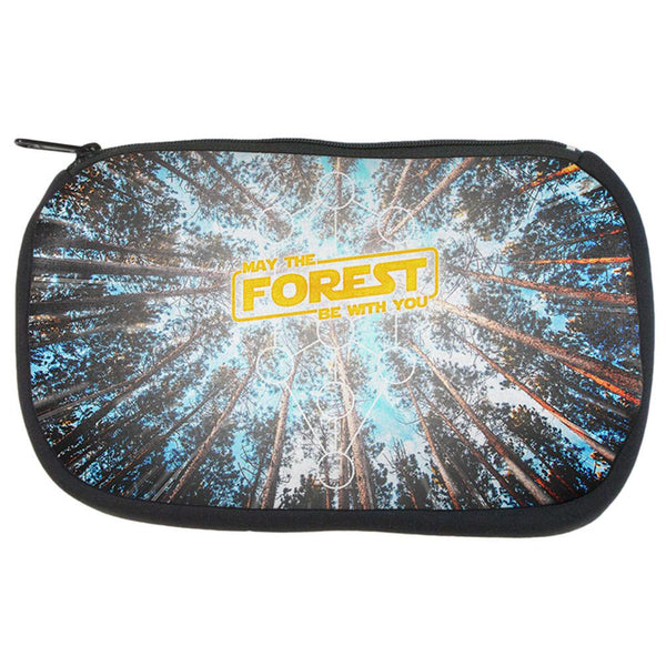 Earth Day May the Forest be with You Travel Bag
