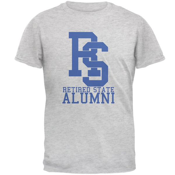 Retired State Alumni Funny Joke Mens T Shirt