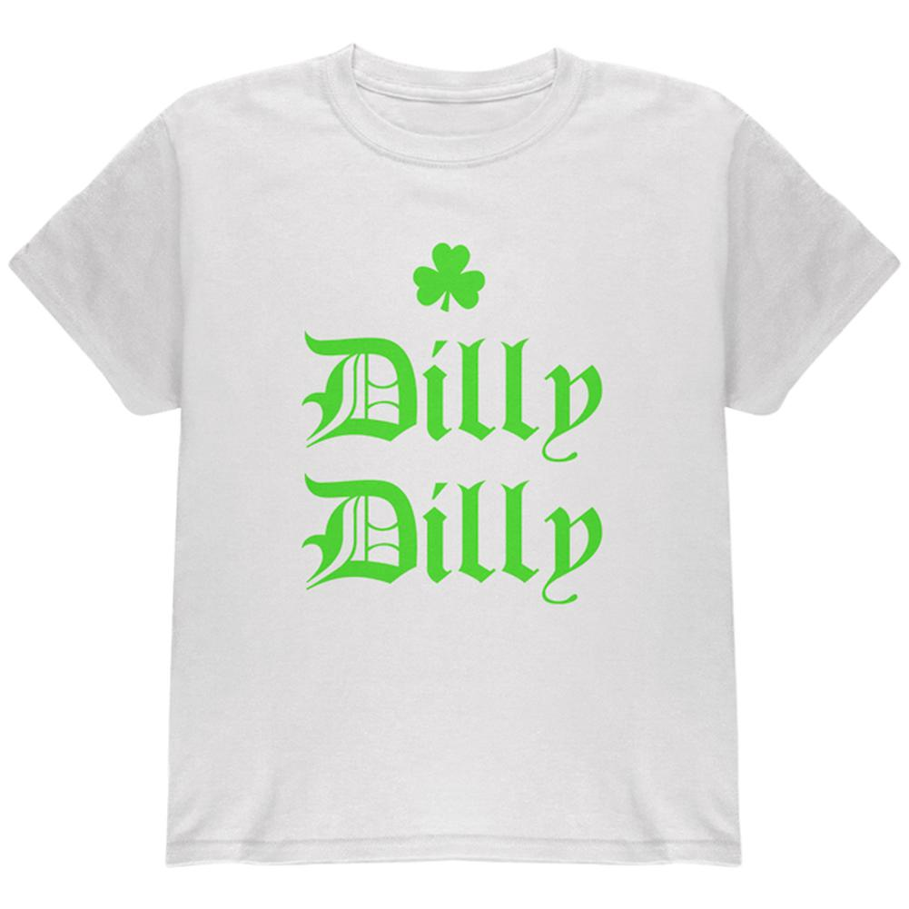 St. Patricks Day Dilly Dilly Shamrock Youth T Shirt – OldGlory.com 2958f29fd