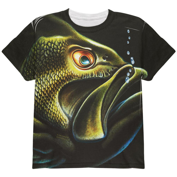 Bass Master All Over Youth T Shirt