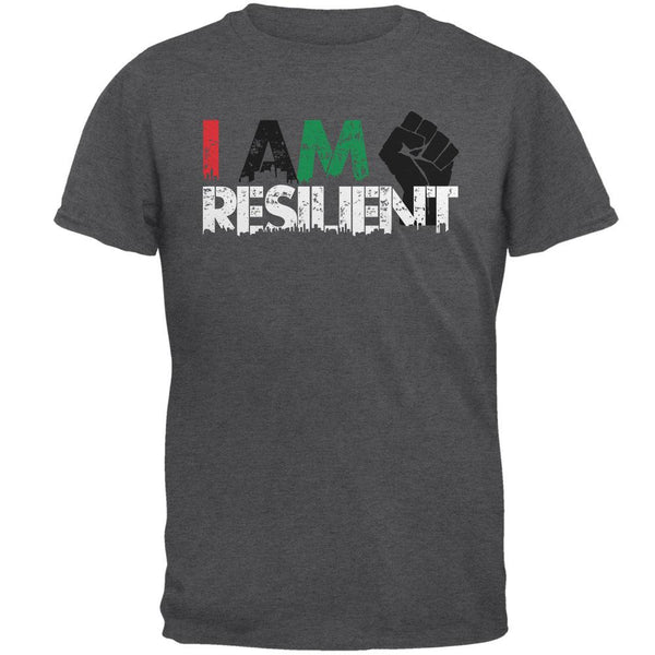 Black History Month Pride I Am Resilient Mens T Shirt