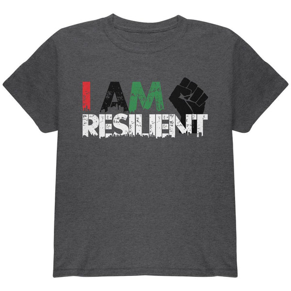 Black History Month Pride I Am Resilient Youth T Shirt