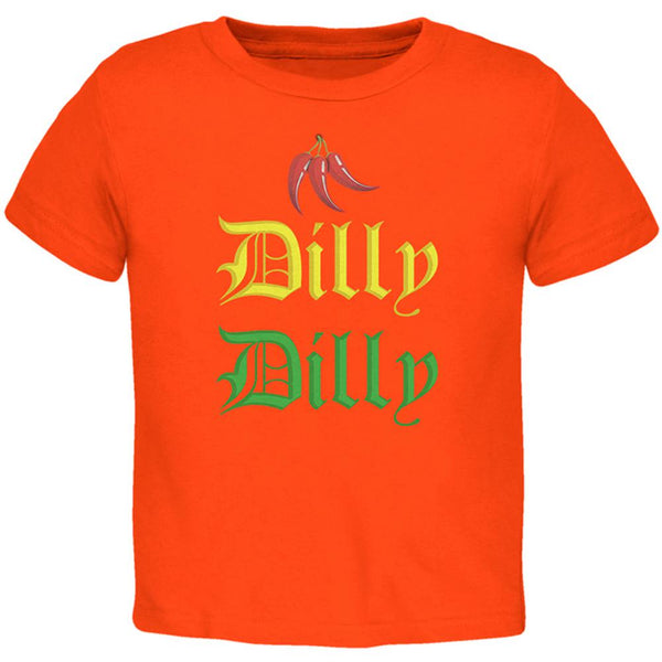 Cinco De Mayo Dilly Dilly Hot Peppers Toddler T Shirt