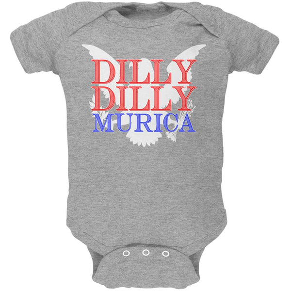 4th of July Dilly Dilly MURICA Soft Baby One Piece