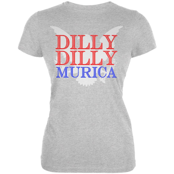 4th of July Dilly Dilly MURICA Juniors Soft T Shirt