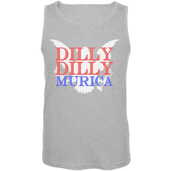 4th of July Dilly Dilly MURICA Mens Tank Top