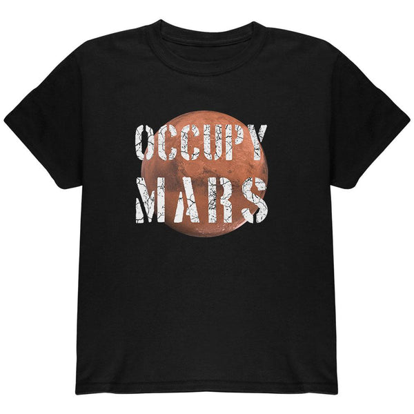 Planet Mars Occupy Mars Youth T Shirt