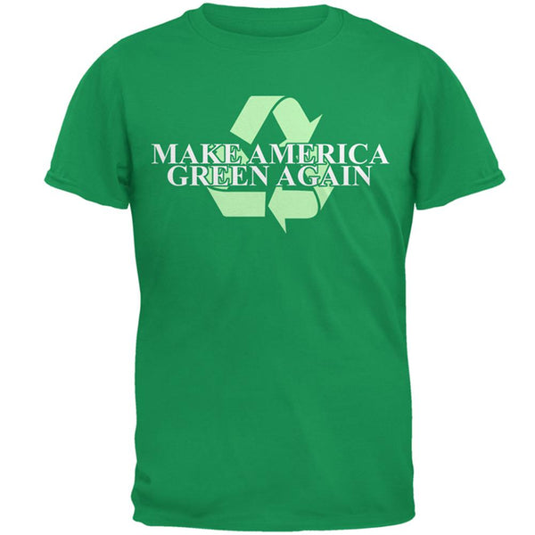 Make America Green Again Recycle Mens T Shirt