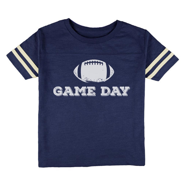 Game Day Football Toddler Football T Shirt