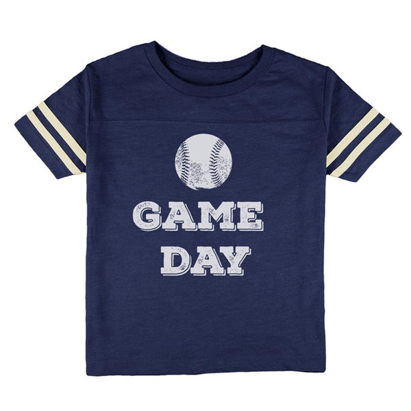 Game Day Baseball Toddler Football T Shirt