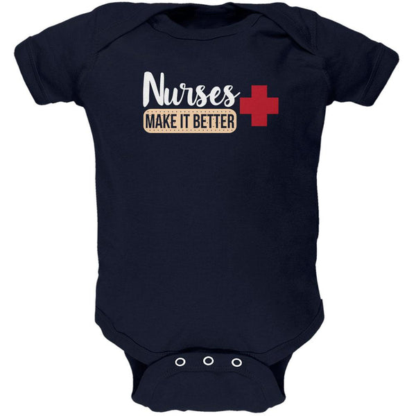 Nurses Make It Better Soft Baby One Piece