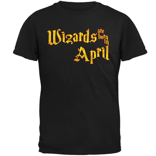 Wizards are born in April Mens T Shirt
