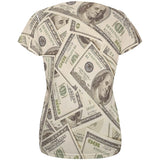 Cash Money All Over Womens T Shirt