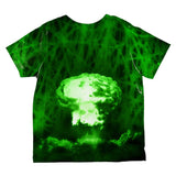 Gamma Radiation Atomic Explosion All Over Toddler T Shirt