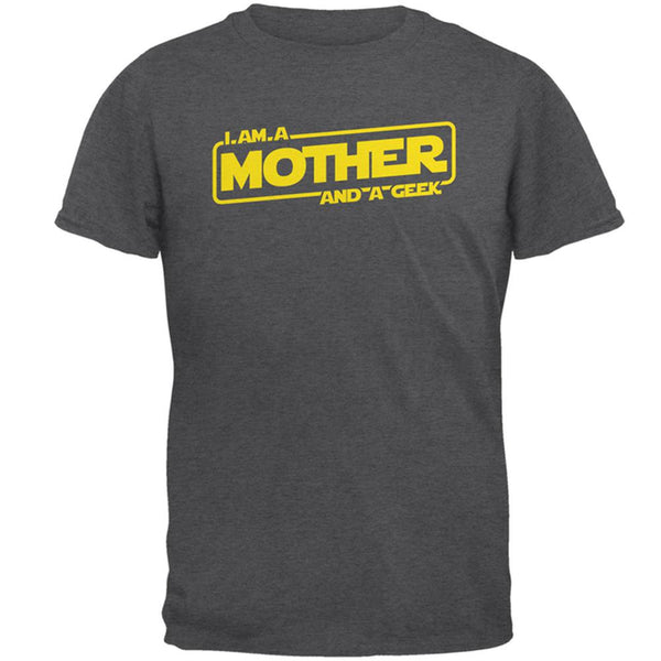 A Mother and a Geek Mens T Shirt