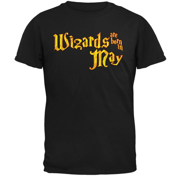 Wizards are born in May Mens T Shirt