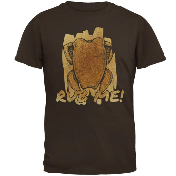 Rub Me Chicken Breast Barbeque Funny Mens T Shirt