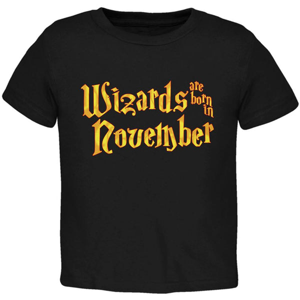 Wizards are born in November Toddler T Shirt