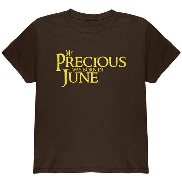 My Precious was Born in June Youth T Shirt